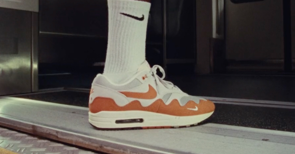 patta nike air max 1 the wave release date